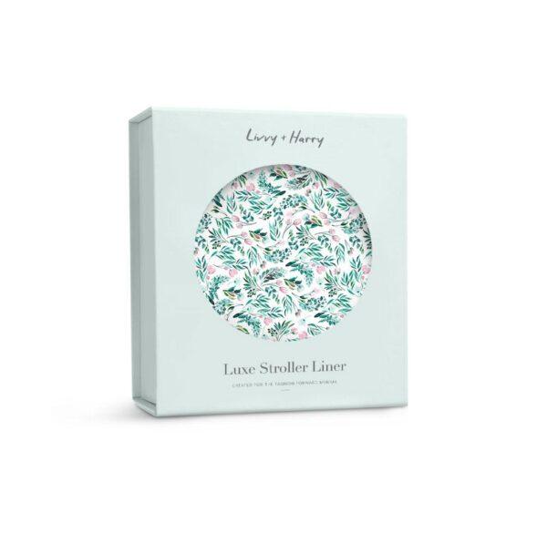 Livvy + Harry Pram Liner Garden Party