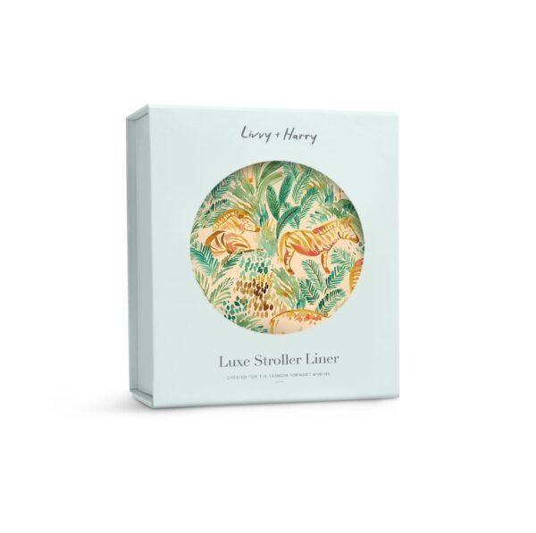 Livvy + Harry Pram Liner Jungle Safari