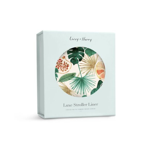 Livvy + Harry Pram Liner Sunshine Fruit