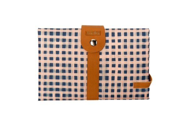 Livvy + Harry Travel Baby Change Mat Classic Gingham