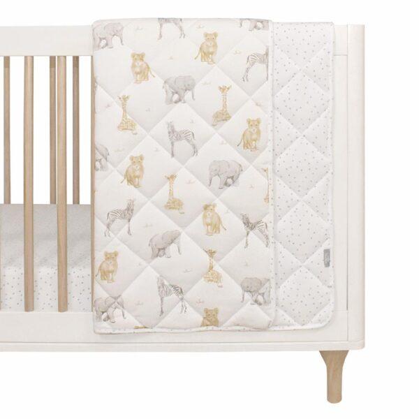 Living Textiles Savanna Babies Quilted Cot Comforter
