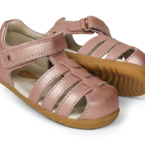 Bobux Step Up Jump Sandal Rose Gold