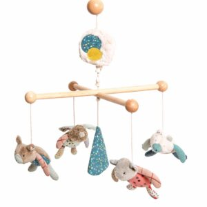 Moulin Roty Jolis Trop Beaux Musical Mobile