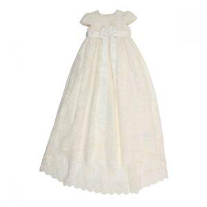 Bebe Hi Low Christening Dress