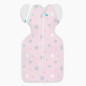 Swaddle UP Transition Bag Lite 0.2 Tog Pink by Love to Dream