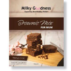 Milky Goodness Triple Choc Brownie Mix