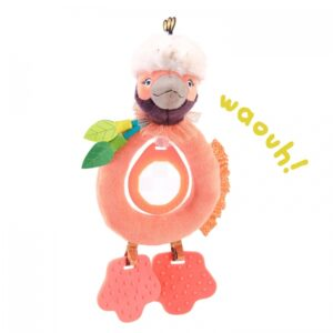 Moulin Roty Dans la Jungle Paloma Bird Teether Rattle