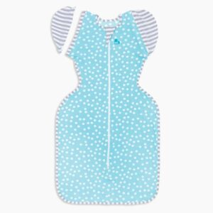 Swaddle Up Transitional Bag Aqua 50/50 Lite 0.2Tog By Love To Dream