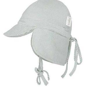 Toshi Flap Cap Baby Sage