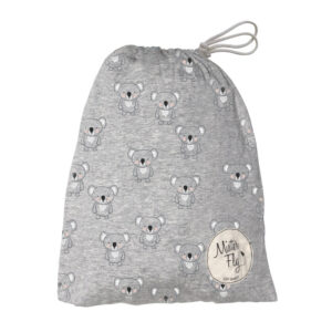 Mister Fly Cot Sheet Grey Koala
