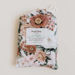 Snuggle Hunny Kids Bassinet Sheet/Change Pad Cover Florence