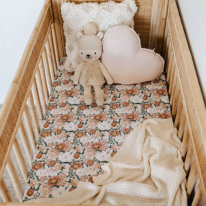 Snuggle Hunny Kids Fitted Cot Sheet Florence
