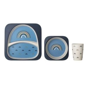 Bloomingville Serving Set Blue Rainbow