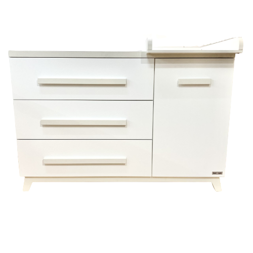 Love n Care Artic 3 Drawer Chest & Cupboard