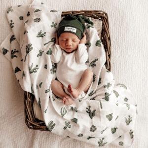 Snuggle Hunny Kids Organic Muslin Wrap Cactus