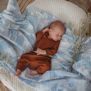 Snuggle Hunny Kids Organic Muslin Wrap Eventide Miss Kyree Loves