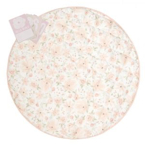 Lolli Living Play Mat with Milestone Cards Meadow