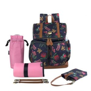 OiOi Backpack Botanical Floral