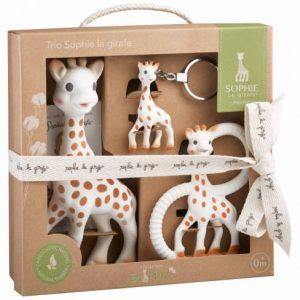 Sophie So Pure Giraffe Trio