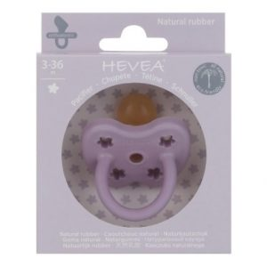Hevea Pacifier Orthodontic Lavender