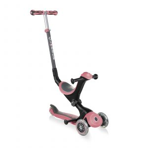 Globber Go Up Deluxe Scooter Pastel Pink