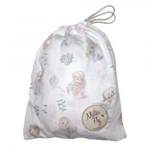 Mister Fly Cot Sheet Mermaid
