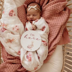 Snuggle Hunny Kids Organic Muslin Wrap Ballerina