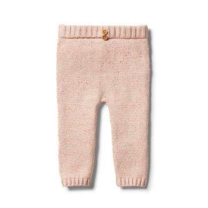 Wilson & Frenchy Knitted Legging Flamingo Oatmeal Fleck