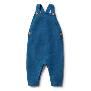 Wilson & Frenchy Knitted Overall Denim Fleck