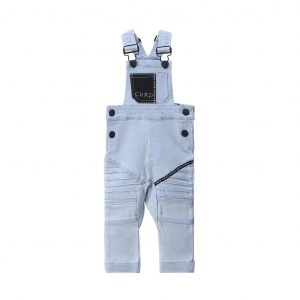 Cracked Soda Archie Overall Denim Blue