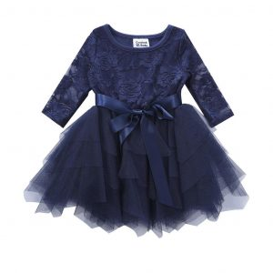 Cracked Soda Rose Layered Lace Tutu
