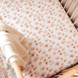 Snuggle Hunny Kids Fitted Cot Sheet Paradise