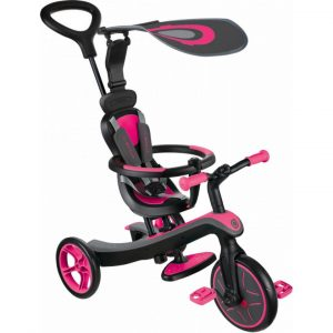 Globber Explorer Trike 4 in 1 Pink