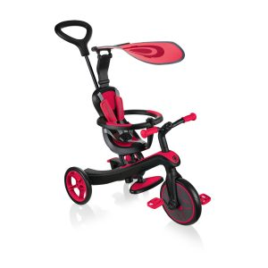 Globber Explorer Trike 4 in 1 Red