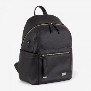 Vanchi Manhatten Backpack Black