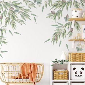 Ginger Monkey Australian Gum Tree & Gumnut Decal Set