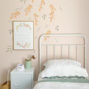Sailah Lane ABC Poster - Floral & Fauna