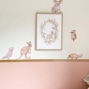 Sailah Lane Fauna Set Wall Stickers