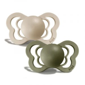 Bibs Couture Silicone Pacifier Size 2 - 2 Pack