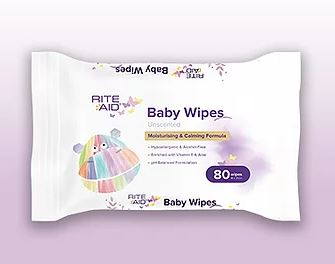 Rite Aid Baby Wipes 80 Pack