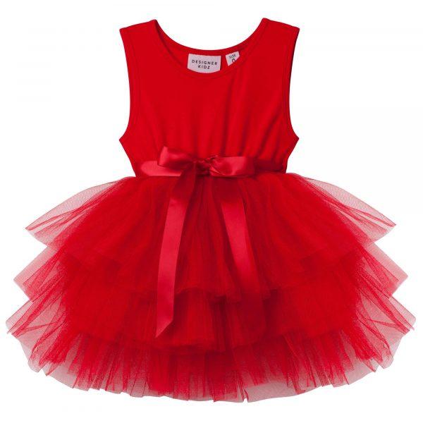 Designer Kidz My First Tutu Red