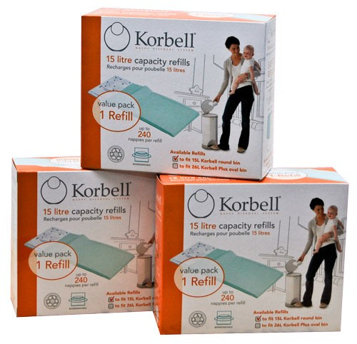 Korbell Nappy Disposal System Refill