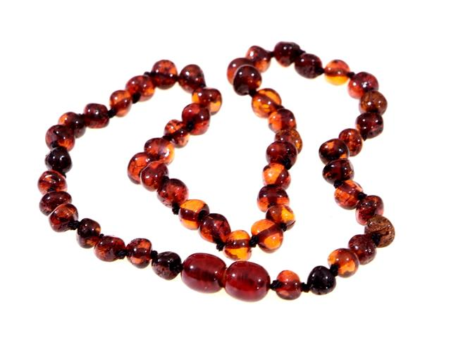 Baltic Amber Infant Teething Necklace
