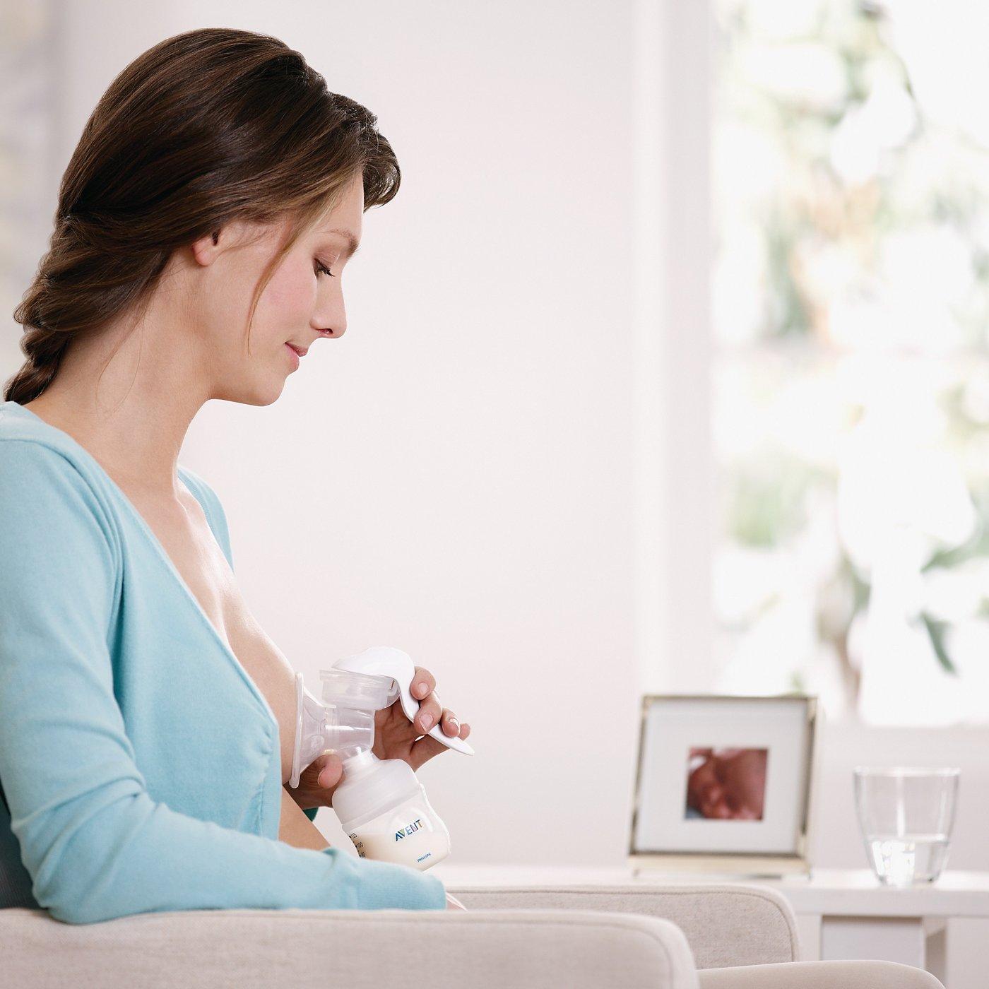 Philips Avent Comfort Manual Breast Pump  Breast Pumps -3815