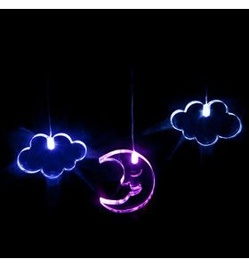 LED Mobile Moon & Clouds