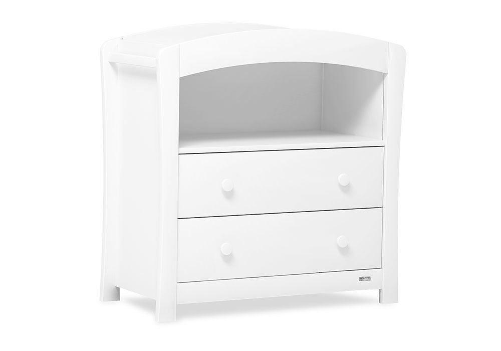 Boori Urbane Sunshine 2 Drawer Chest Changer Baby: nursery chest of drawers with changer