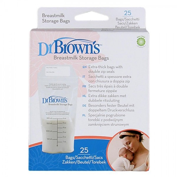 Dr Brown's Breastmilk Storage Bags