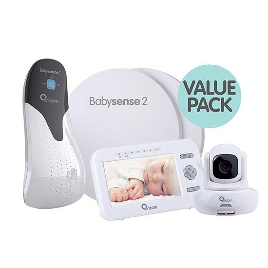 Oricom Babysense2 and Secure 850 Video Baby Monitor
