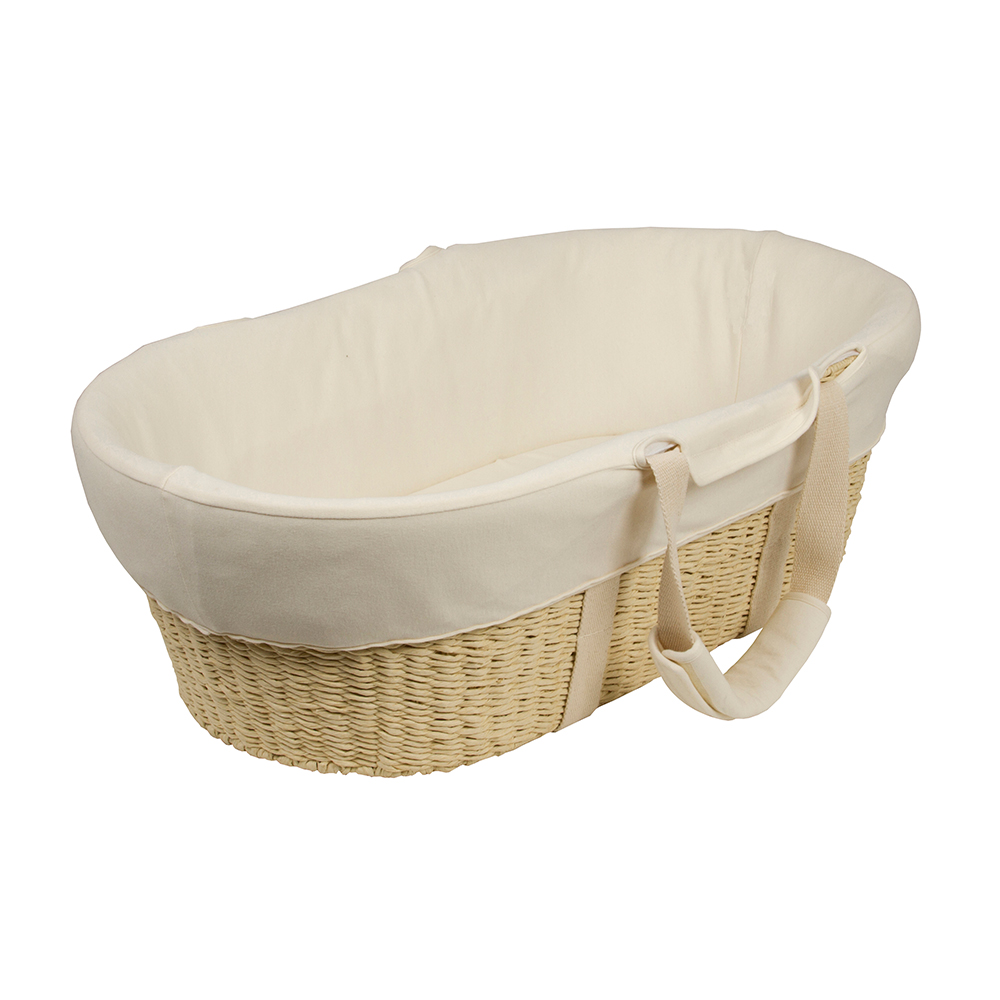Bebe' Care Cream Moses Basket