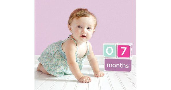 Pearhead Baby Age Blocks